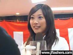 Asian Flashing And Banging Hard video-29