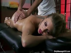 Sexy Big Tit Babes Fucked by Horny Masseur 27