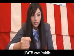 Cute Japanese Teens Expose In Public 11