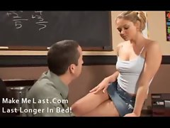 Blonde banging the teacher in school 002 -mml