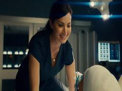 Erica Durance Hot Scene From Saving Hope