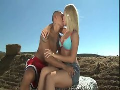AMWF nicole aniston interracial with asian guy
