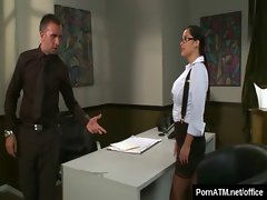 Big Tits at Work - Busty Office Babes Fucked Hard 33
