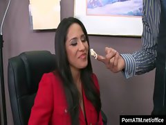 Big Tits at Work - Busty Office Babes Fucked Hard 16