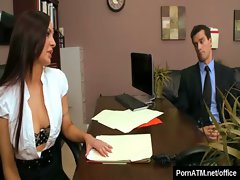 Big Tits at Work - Busty Office Babes Fucked Hard 02