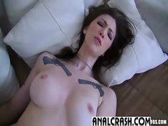 Sexy Amateur Girl Get First Anal Sex video-13