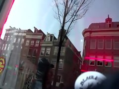 Dirty guys visit a whore in Amsterdam