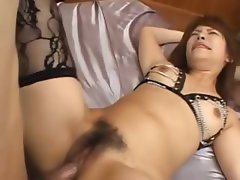 sexy asian ass fucking with lingerie