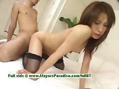 Ayane hot girl naughty Chinese model enjoys a hard core fucking