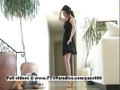 Brianne tender stunning brunette dancing