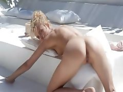 attractive dream of beautiful wow blonde