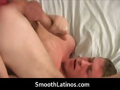 Lucas Hunt jerking his gay cock