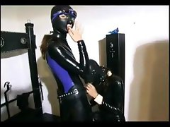 Domina humiliating her slave girl