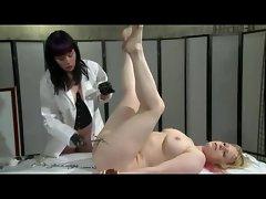 Lesbian Femdom Plays Doctor
