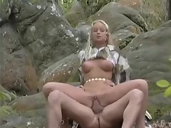 Sylvia Saint has hot anal sex in the woods