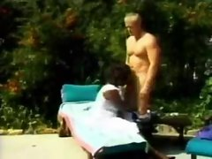 Mature guy fucks a curvy black chick hardcore