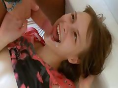 Hardcore teen erotica with her cameraman
