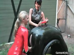 Dirty Carmen in hard core bdsm bdsm part6