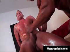Hot and horny dude gets the massage part3