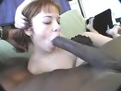 sucking on a big one