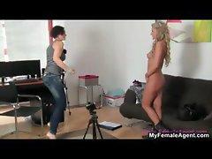 Horny female agent seduces part5