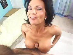 Deauxma sits on the hard boner