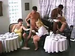 Fat girls fucking in an awesome orgy