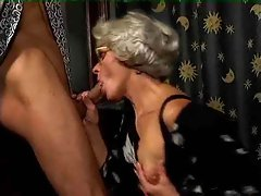 Granny slut loves to be pounded with big cock