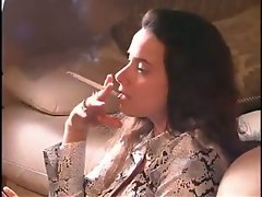 Rebecca smoking girl