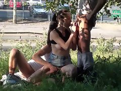 Public sex Real BUMs are having sex in public street PART 1