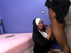 Dana Hayes fetish video: a priest fucking a nun