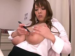 Hitomi Tanaka Big Tit Secretary