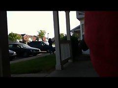 Flashing my Ebony neighbor 2