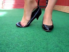 Heels Stockings Foot Fetisch