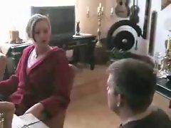 Foot worships Stefanie
