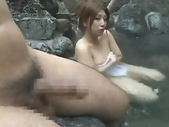 Japanese Dick Flash InTurkish Bath