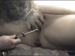 M&amp,#039,s first urethral electro orgasm part 1