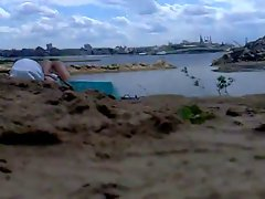Rus Public BEACH FLASH  CUM Watching PeSteR GIRLS 84 - NV