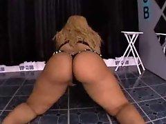 Dominican Mariela Bouncing Her Big Ass