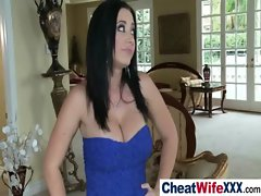 Big Tits Housewife Get Nailed Hard video-18