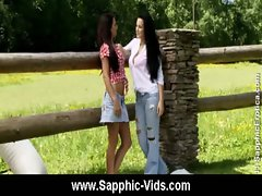 Cute lesbian teens oral sex from Sapphic Erotica 26