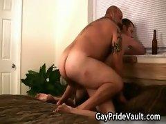 Hairy gay bear fucking sext gay porno