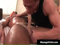 Hot and horny dude gets the massage gay sex