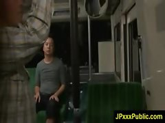 Hot Young Japanese babes Fuck In Public video-23