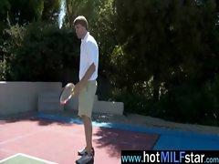 Hot Busty Sexy Milf Get Hard Nailed vid-12