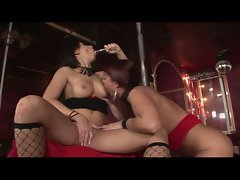 Regina and belicia in first time lesbian pick ups