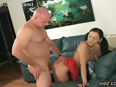 Sexy young renee pornero fucked by bald dude in hardcore anal