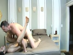Two gay guys loves felching their assholes