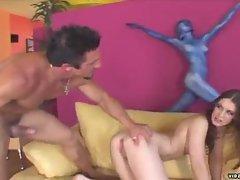 Alicia alighatti loves big cock spanking