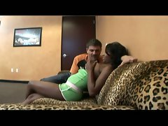 Black chick does her first casting couch pov fuck